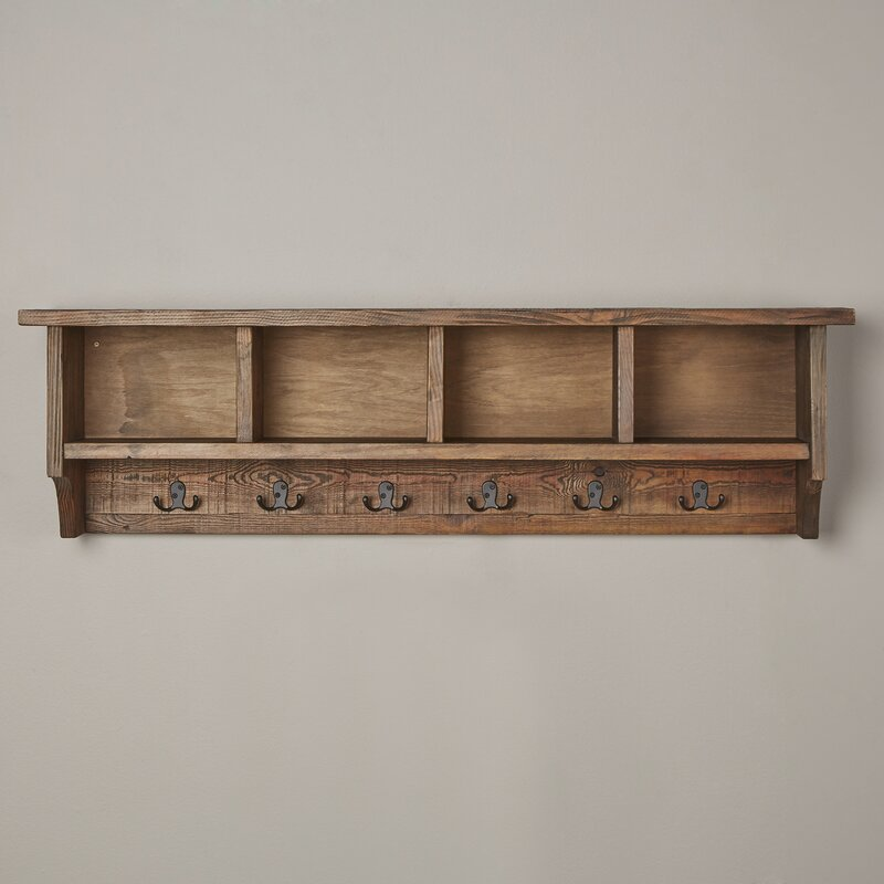 Veropeso Wall Mounted Coat Rack With Storage Cubbies Reviews Birch Lane