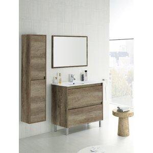 Home Etc 80 cm Waschtisch Dakota mit Spiegel