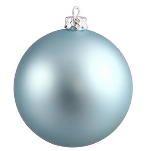 Ball UV Drilled Cap Christmas Ball Ornament