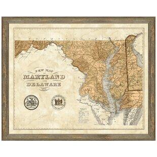 Boston Maps Wall Art You Ll Love Wayfair