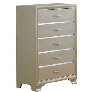 Royalton 5 Drawer Chest by House of Hampton