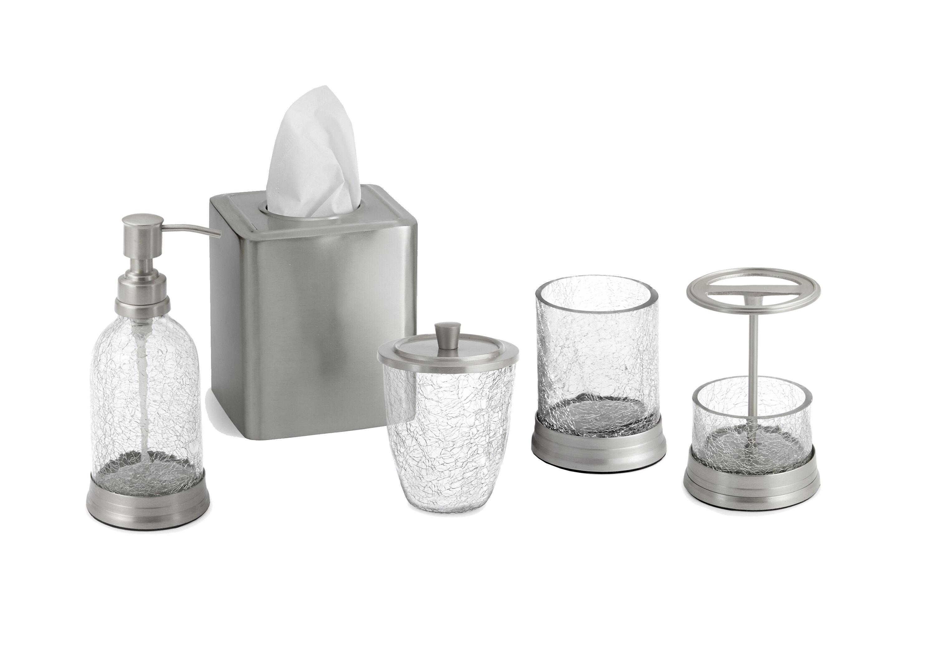 Paradigm Trends Heirloom 5-Piece Bathroom Accessory Set & Reviews ...
