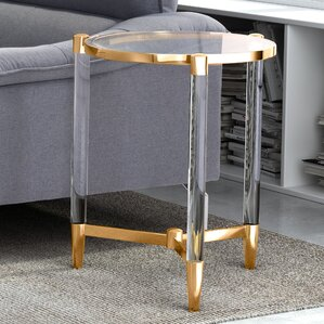 Brosius End Table by Mercury Row
