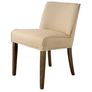Knowlton Cream Parsons Chair by Gracie Oaks