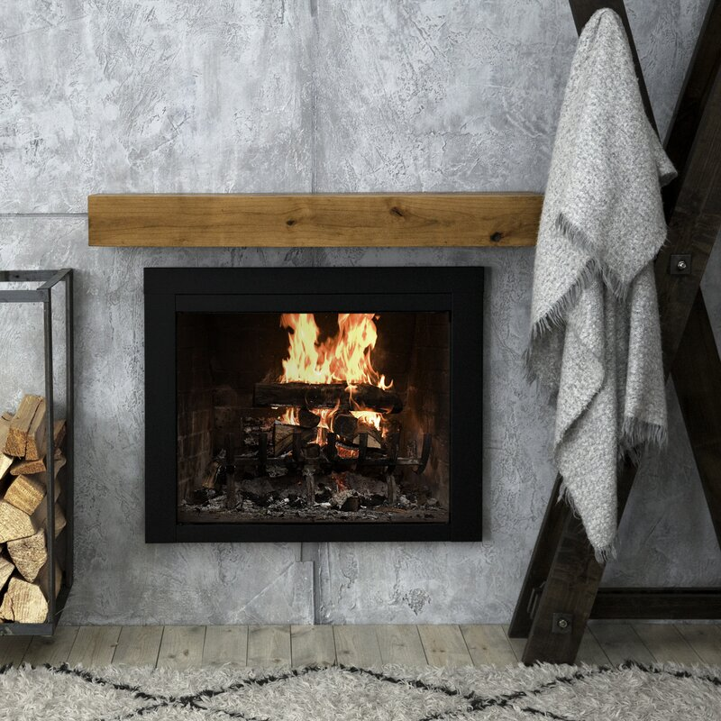 Modern Farmhouse Fireplace Shelf Mantel
