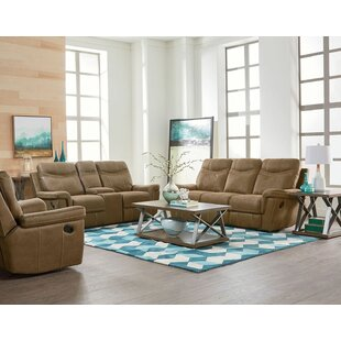 Microfiber Reclining Sofa Living Room Sets You Ll Love Wayfair