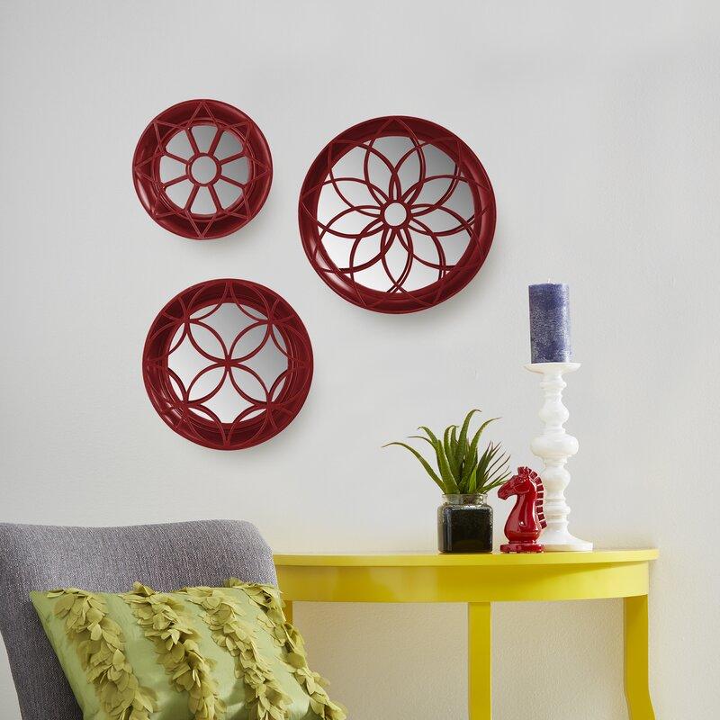 Etonnant 3 Piece Hanging Mirror Wall Decor Set
