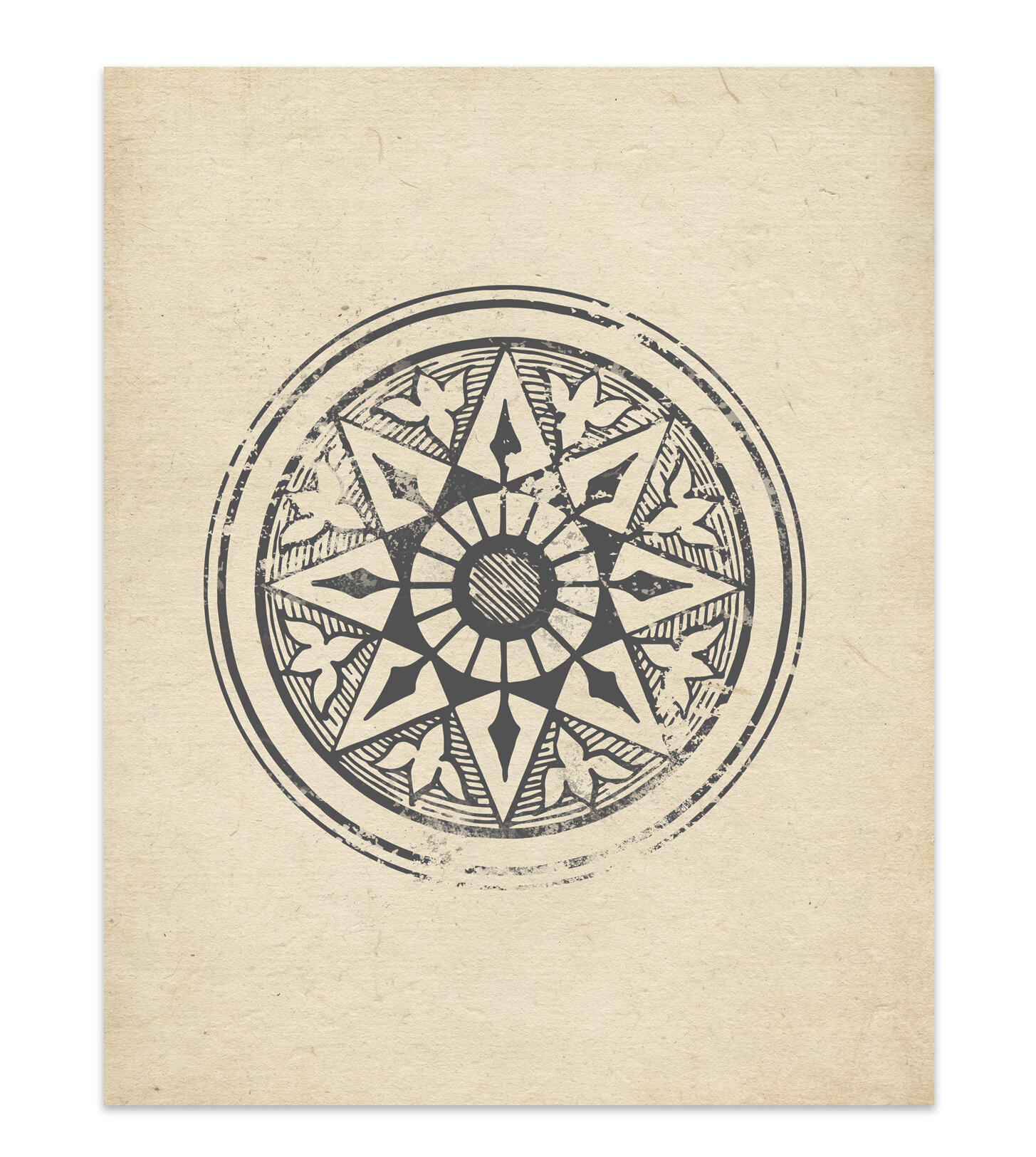 It is a picture of Stupendous Star Wheel Printable