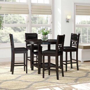 Jackins 5 Piece Pub Table Set