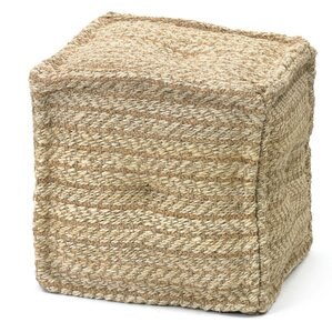 Gulfport Pouf Ottoman by Breakwater Bay