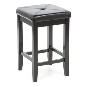 Prabal 24  Bar Stool with Cushion (Set ...  sc 1 st  Wayfair : black and wood bar stools - islam-shia.org