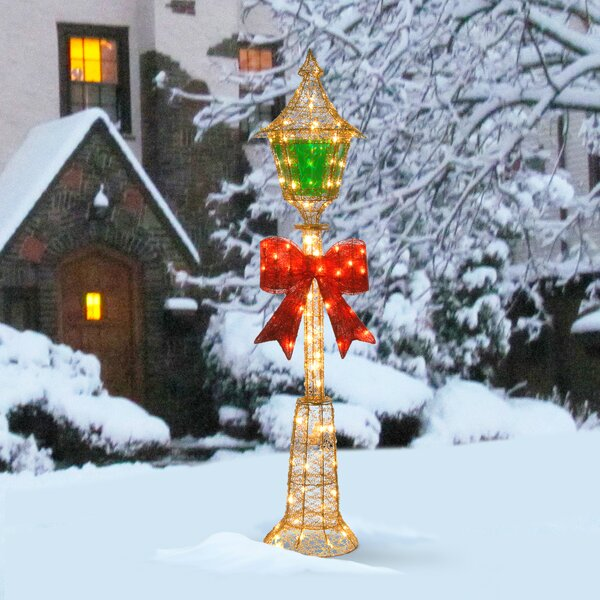indoor christmas lamp post wayfair