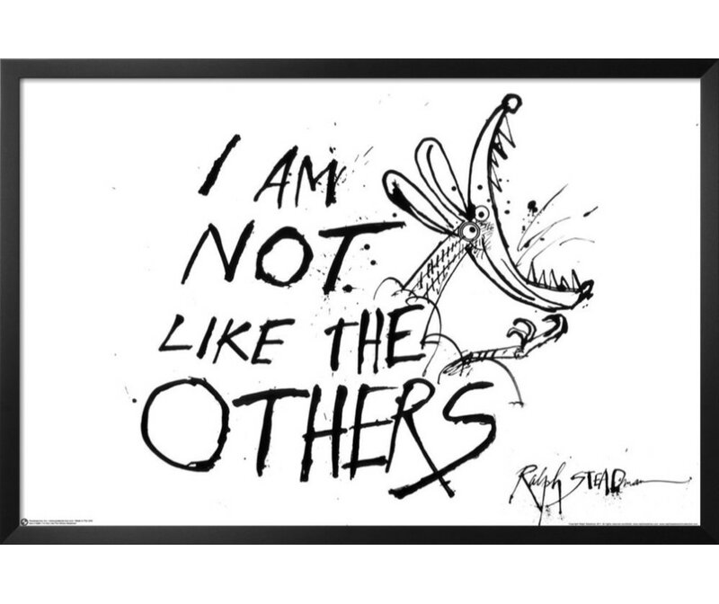 Buy Art For Less Hunter S Thompson Quote I Am Not Like The Others