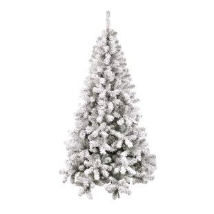 0acfea840ad Olivia 5ft Flocked White Artificial Christmas Tree with Stand