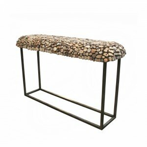 Bellini Modern Living Pebble Console Table | Wayfair