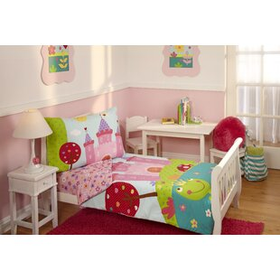 stripe bed bedding set dot polka products toddler tadpoles pc