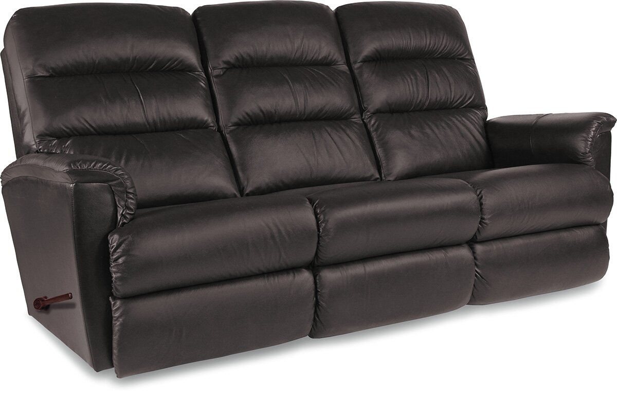 Tripoli Leather Reclining Sofa Part 7