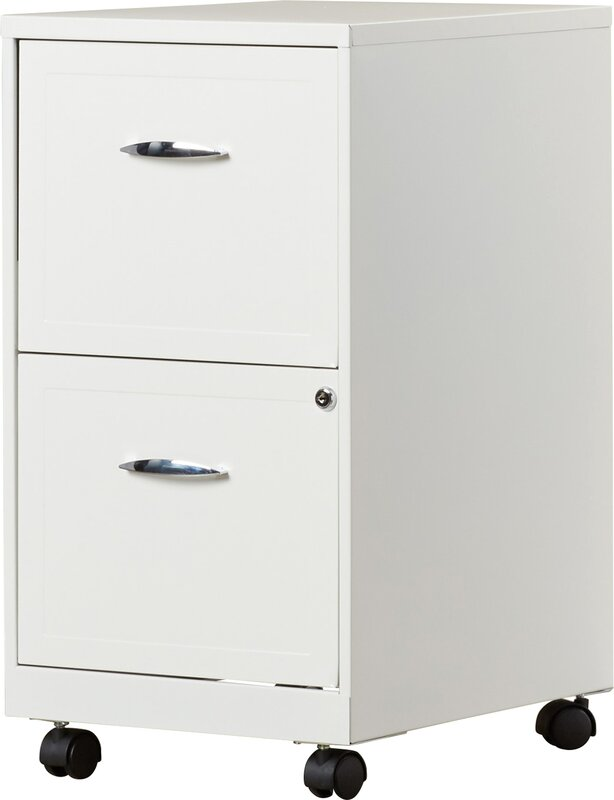 Zipcode Design Gigi 2 Drawer Mobile File Cabinet & Reviews | Wayfair