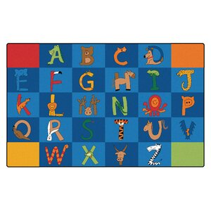 Camila A to Z Animals Kids Rug