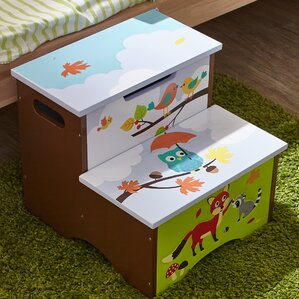 Enchanted Woodland Step Stool with Storage by Fantasy Fields