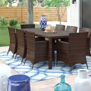 be96ad54f19d Eight Person Patio Dining Sets You'll Love in 2019 | Wayfair
