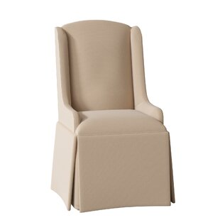 Doric Petite Wing Back Skirted Arm Chair