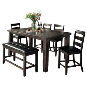 Bridlewood 6 Piece Counter Height Dining Set