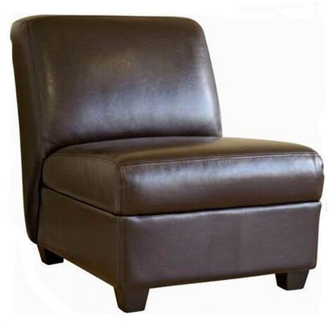Ingalls Leather Slipper Chair  sc 1 st  Wayfair & Winston Porter Ingalls Leather Slipper Chair | Wayfair