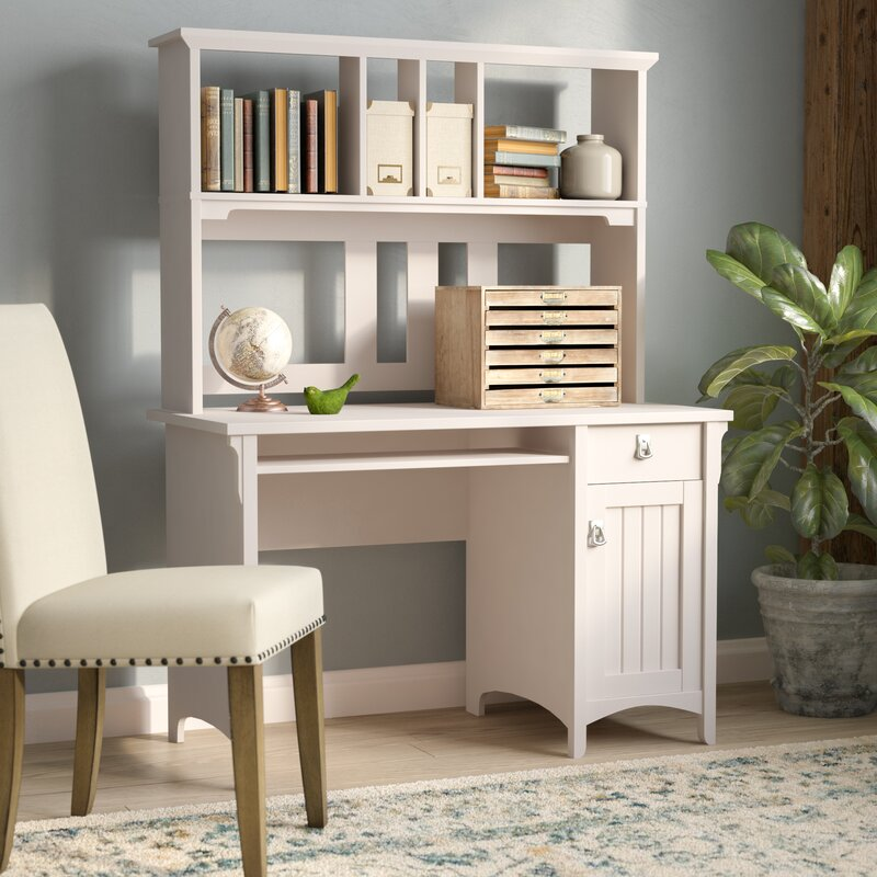 Lark Manor Ottman Computer Desk With Hutch & Reviews