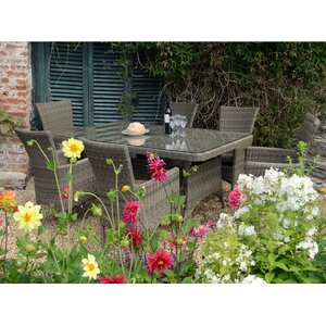 6-Sitzer Gartengarnitur Langton mit Polster von ..