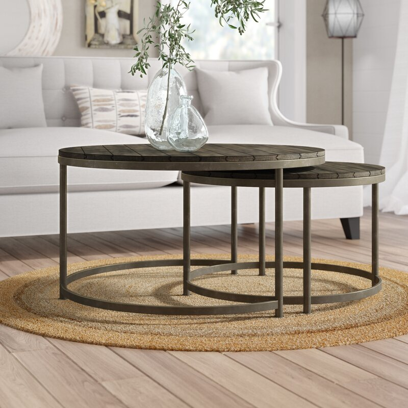 Birch Lane™ McCarty 2 Piece Coffee Table Set & Reviews