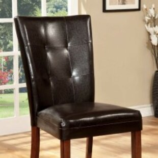Moore Padded Upholstered Dining Chair (Set of 2)