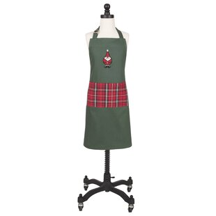 """Homewear Rose Kiss Easy Care Tiered Apron  32/""""x34/"""""""