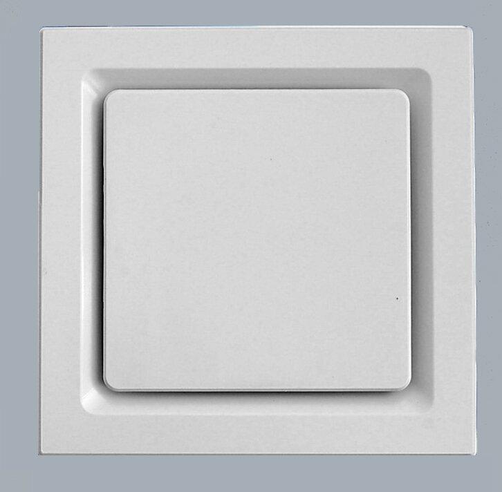 Small Quiet Bathroom Exhaust Fan aero pure super quiet 80 cfm bathroom ventilation fan & reviews