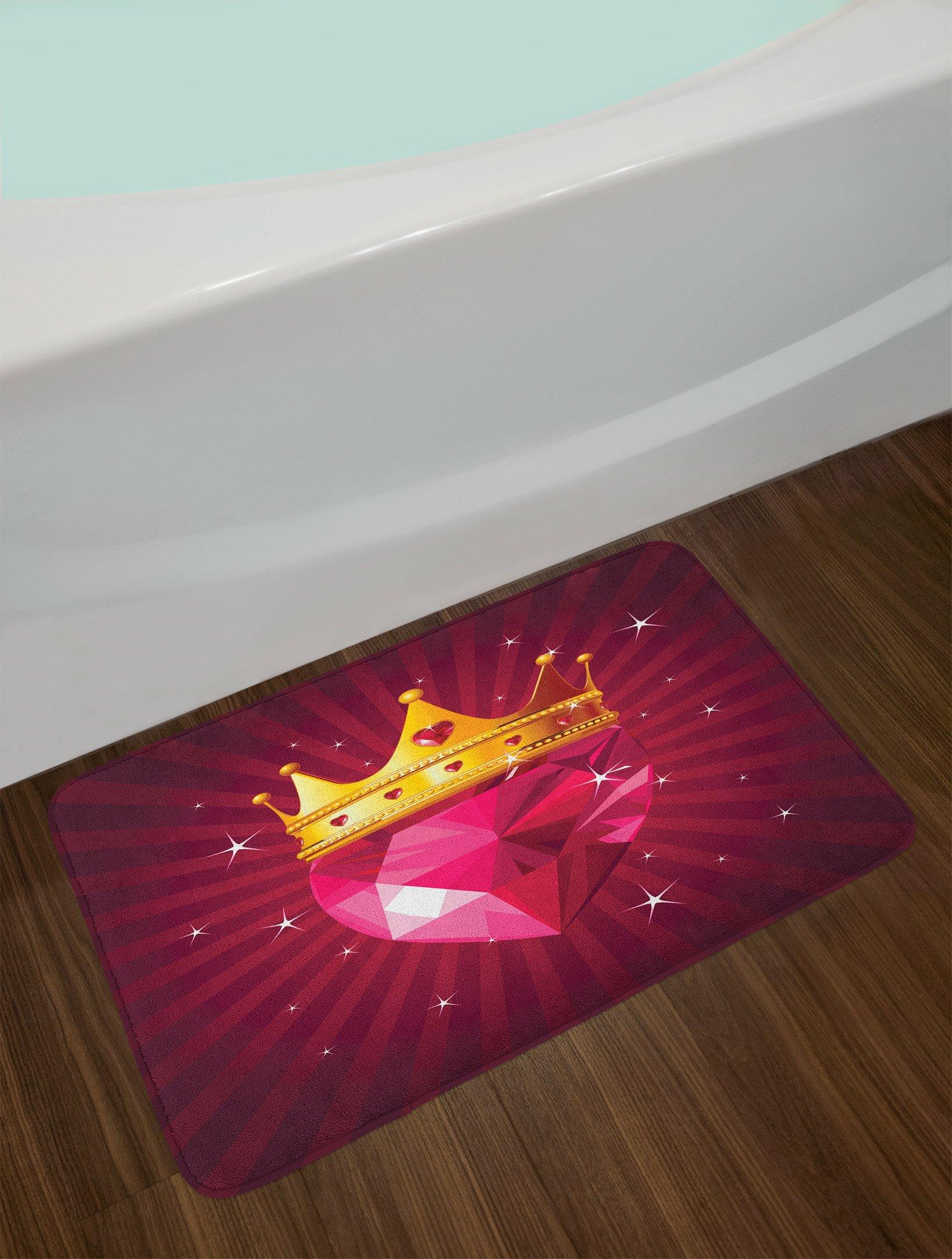 Non-slip Doormats Floor Entryways Indoor Front Door Mat Gift Decor Romantic Background With Hearts For Valentine Day Bath Rugs