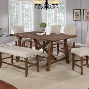 Counter Height Dining Table by BestMasterFurniture