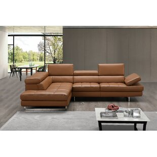 Light Brown Leather Sectional Wayfair
