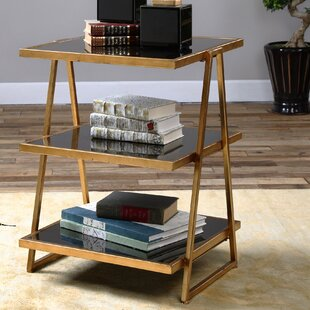 Gold And Glass Accent Table Wayfair - Wayfair gold end table