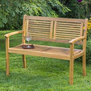 2-Sitzer Gartenbank Bay aus Massivholz von Garten Living