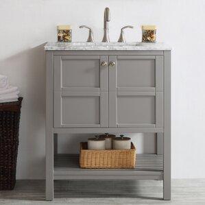 30 inch bathroom vanity with sink. Caldwell 30  Single Bathroom Vanity Inch Vanities You ll Love Wayfair