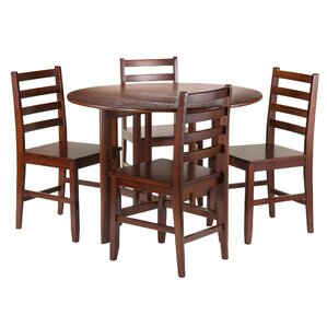 Columbia 5 Piece Dining Set by Red Barrel..