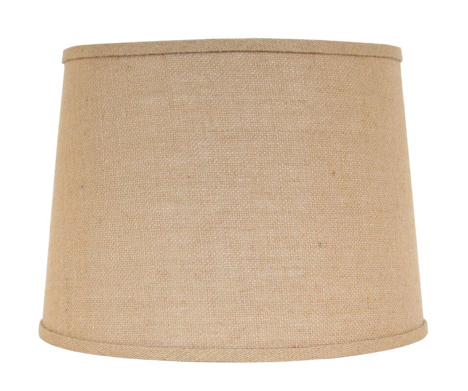 beachcrest home 15 drum lamp shade reviews wayfair. Black Bedroom Furniture Sets. Home Design Ideas