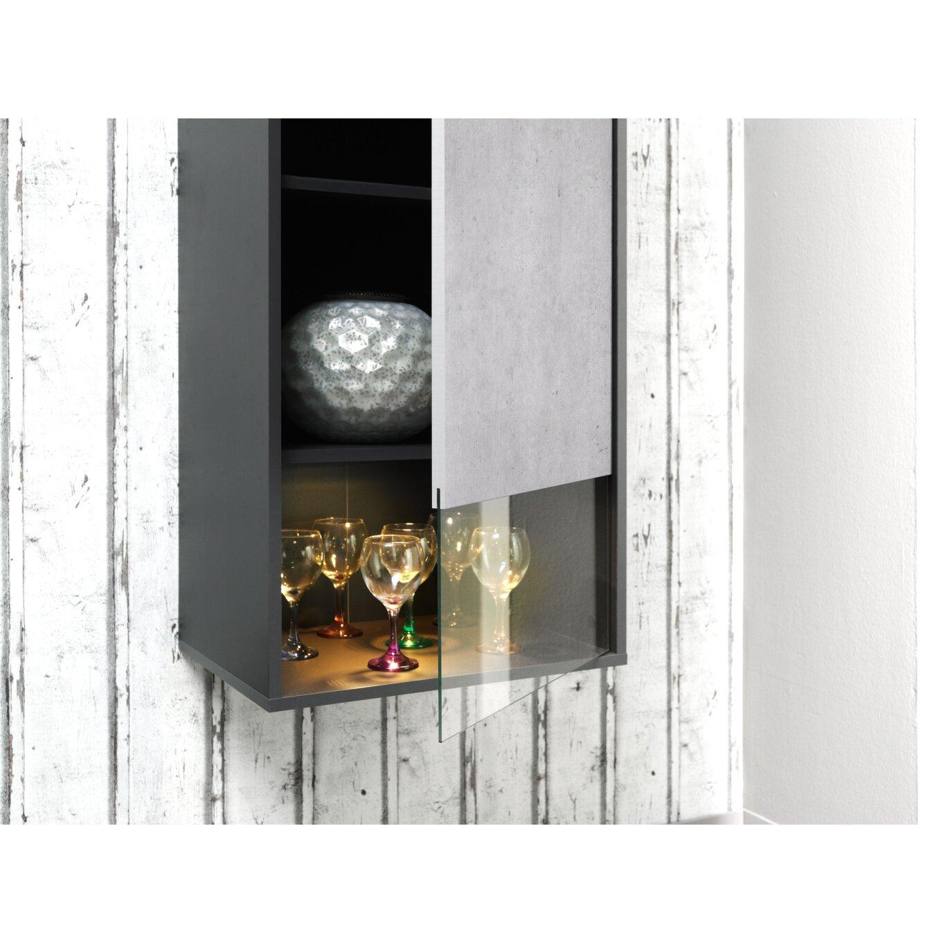 cs schmal tvschrank p62 wayfairde. Black Bedroom Furniture Sets. Home Design Ideas