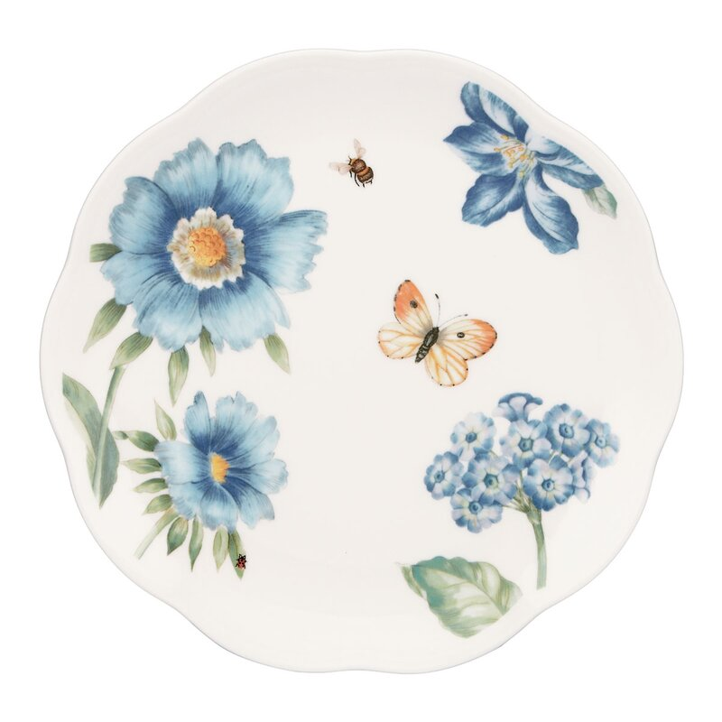 Butterfly Meadow 4 Piece Dessert Plate Set  sc 1 st  Wayfair & Lenox Butterfly Meadow 4 Piece Dessert Plate Set | Wayfair