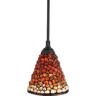Mini tiffany pendant lights wayfair siegmund 1 light tiffany pendant aloadofball Image collections