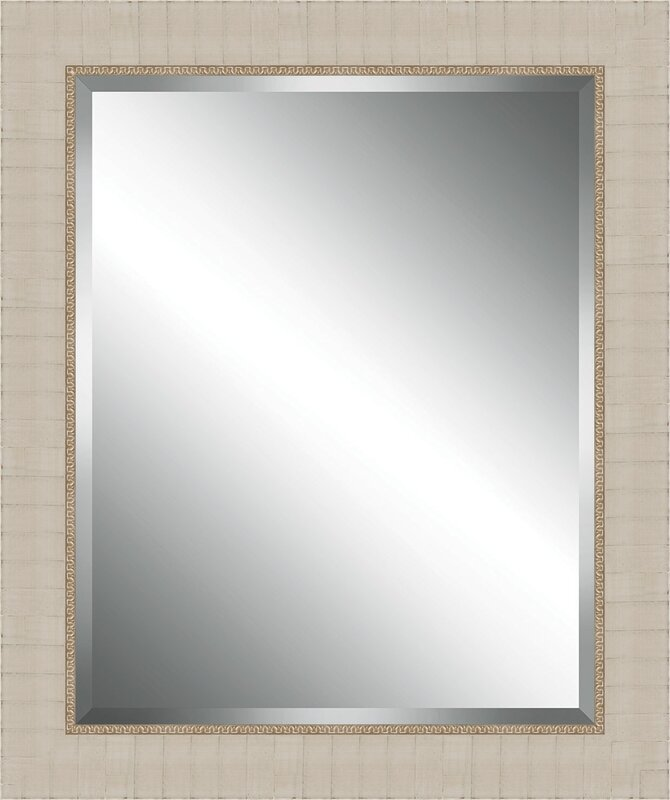 Ashton Wall Décor LLC Wood Framed Beveled Plate Glass Mirror ...