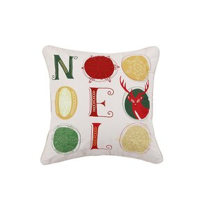 Noel Holiday Pillow Protector by Affluence Home Fashions