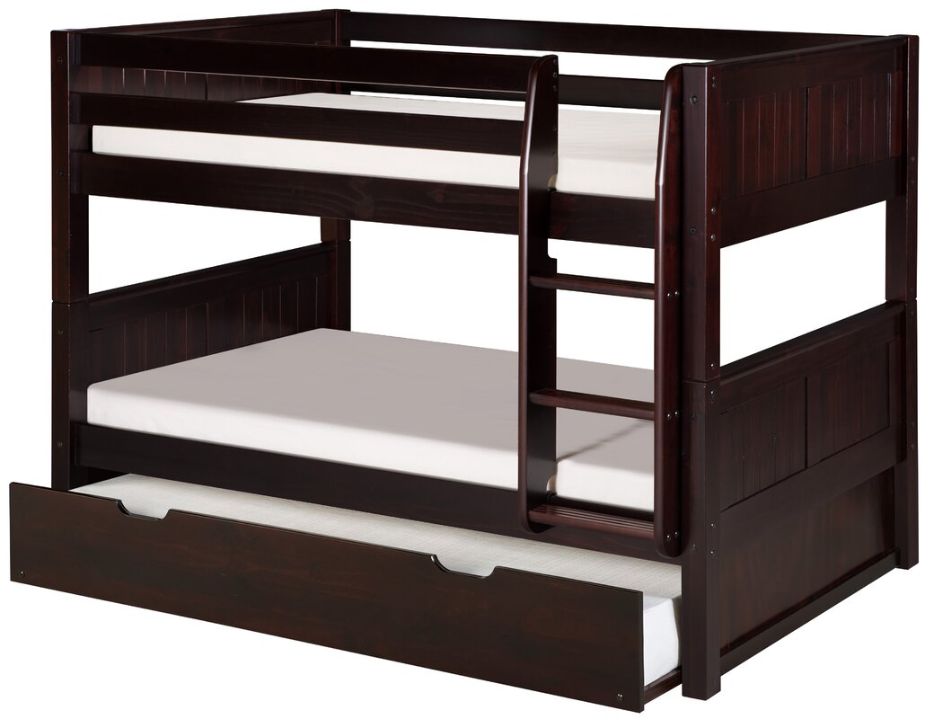 Isabelle Low Twin Over Twin Bunk Bed With Trundle