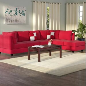 : red sofa sectional - Sectionals, Sofas & Couches