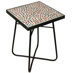 Perfect Color Mosaic End Table